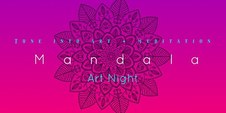 Sacred Mandala: Painting Workshop for Adults: Art Night: 28th May tickets