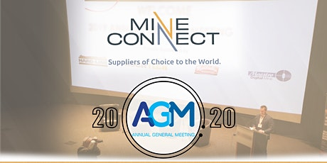MineConnect AGM 2020 tickets