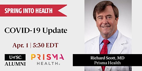 Spring into Health: COVID-19 Update with Prisma Health tickets