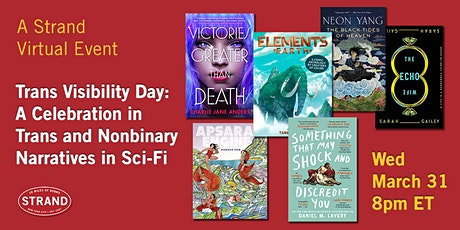 Trans Visibility Day: Celebrating Trans and Nonbinary Narratives in Sci-Fi tickets