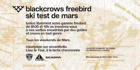 blackcrows freebird ski test de Mars - Legend'CHX Chamonix billets