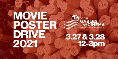 Movie Poster Drive @ Gables Cinema tickets