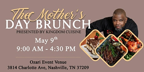 A Mothers Day Brunch Celebration with Chef Jerod Wilcher tickets