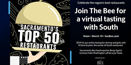 Join The Sacramento Bee for a virtual tasting with South restaurant tickets