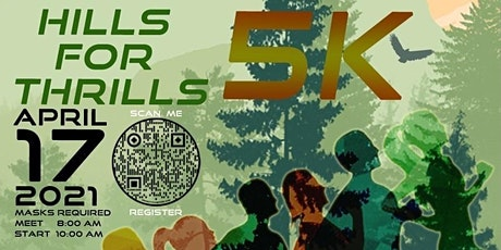 Hills For Thrills Charity 5K Run / Walk tickets