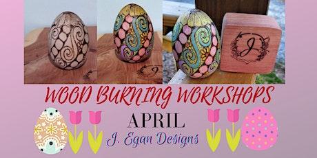 Wood Burning Workshop Easter 2021 tickets