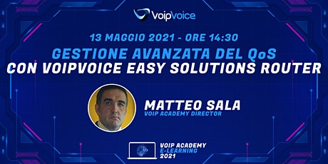 Gestione avanzata del QoS con VoipVoice Easy Solutions Router tickets