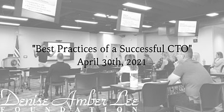 """""""Best Practices of a Successful CTO"""" April Virtual tickets"""