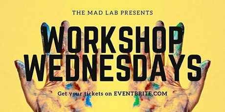 WorkShop Wednesdays: Peace & Paint hosted by Evan Bieder & Katherina Capon tickets