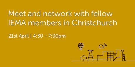 NZ210421 New Zealand: Christchurch Networking Event tickets