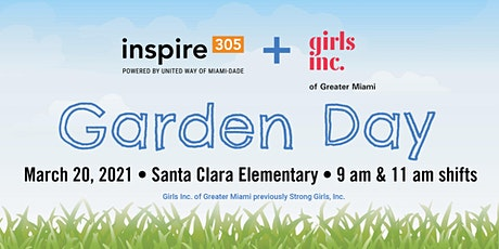 Inspire305 Garden Day Volunteer Project with Girls Inc. of Greater Miami tickets