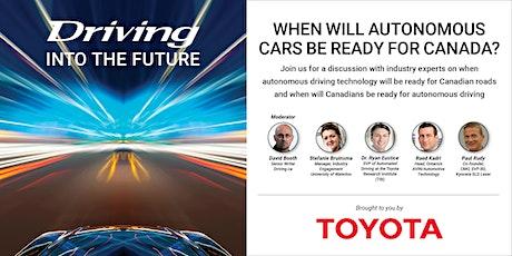 Driving into the Future:  Will the Autonomous Automobile make roads safer? tickets