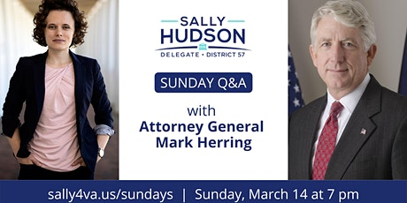 Sunday Q&A with Attorney General Mark Herring tickets