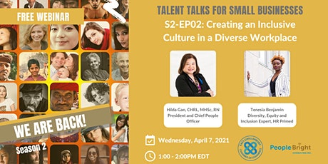 Creating an Inclusive Culture in a Diverse Workplace tickets