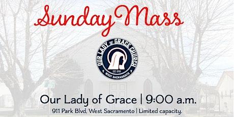 Sunday 9a.m. Celebration of  Sunday Mass (Indoors) tickets