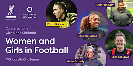 Conversations with Chris Kirkland: Women and Girls in Football tickets