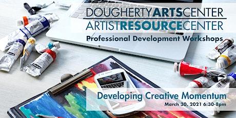 Developing Creative Momentum tickets
