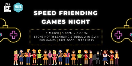 Speed Friending Games Night tickets