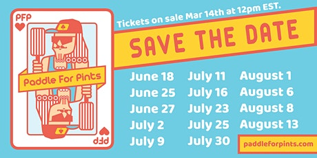 Paddle For Pints 2021 tickets