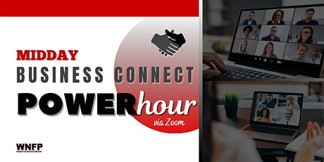 Midday Business Connect Power Hour   via Zoom tickets