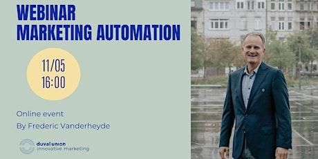 Webinar I Marketing Automation tickets