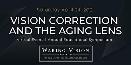 Waring Vision Institute Optometric Symposium 2021 tickets
