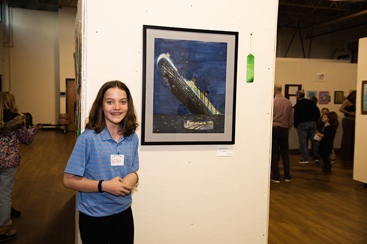 Mentors & Students: Free Art Exhibit image