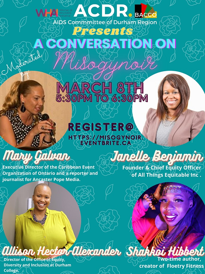 ACDR Presents: A Conversation on Misogynoir image