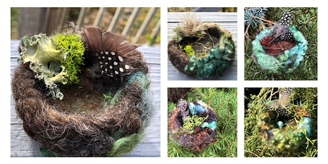 Creative Hands Club: Needle Felted Wool Bird Nests tickets