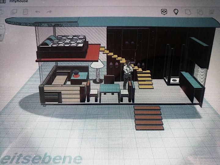 """Einführungsangebot Architektur – 3D-CAD-Workshop """"Living in a Tinyhouse"""": Bild"""