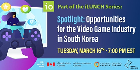 Spotlight: Opportunities for the Video Games Industry in South Korea tickets