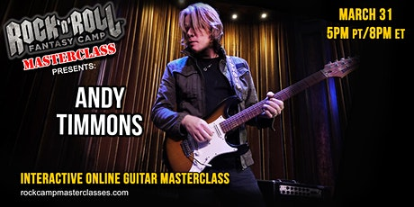 Andy Timmons Guitar Masterclass tickets