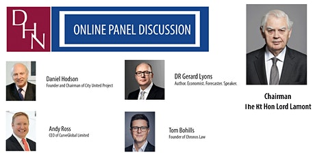 13.04.21 - DHN Online Panel Discussion - The City in a post-brexit world tickets