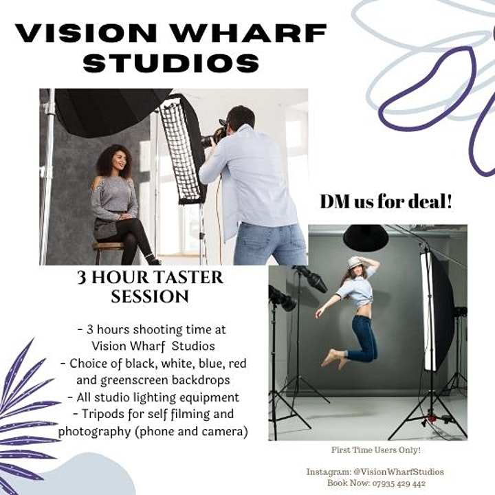 Influencer Shooting Days at Vision Wharf Studios image