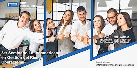 3er Seminario Latinoamericano en Gestión del Riesgo Operacional - GROp 2021 entradas