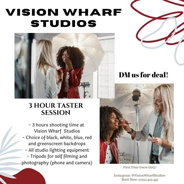 Influencer Shooting Days at Vision Wharf Studios image