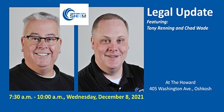 December 2021Oshkosh Area SHRM Chapter Meeting: Legal Update tickets