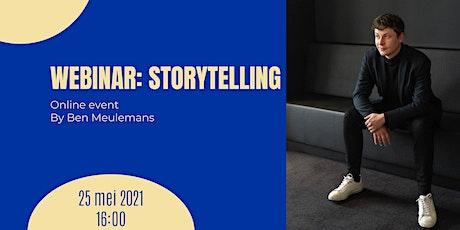 WEBINAR I Storytelling tickets