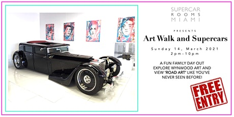 SUPERCAR ROOMS PRESENTS 'ARTWALK AND SUPERCARS' FREE EVENT tickets