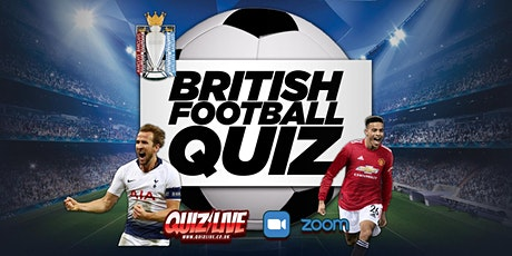 Daimo's Thursday Theme: The British Football Quiz Live on Zoom tickets