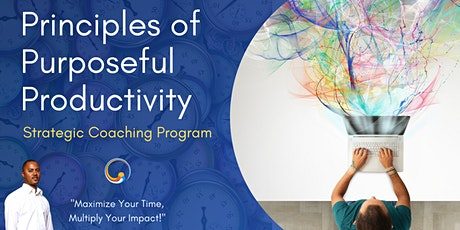"""Principles of Purposeful Productivity"" Mastermind tickets"