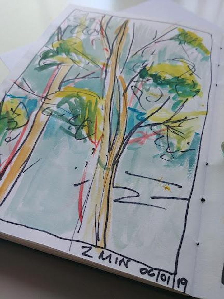 On the Road - Travel Plein Air Sketching with Michelle Wiebe image