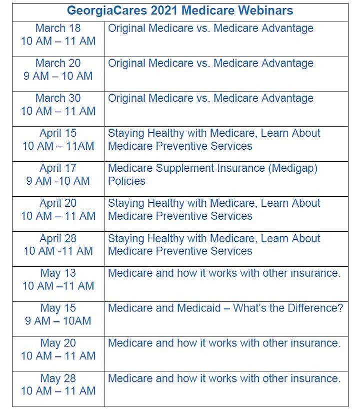 Medicare 101 Webinar image