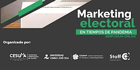 Marketing electoral en tiempos de pandemia (simposium online) boletos