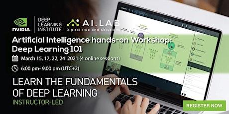 NVIDIA DLI Artificial Intelligence Workshop: Deep Learning 101 tickets