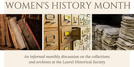Collections Conversation: Women's History Month tickets