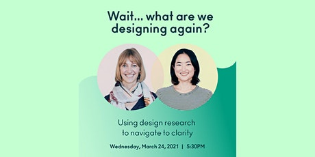 Wait...What Are We Designing Again? (Lecture and Q&A) billets