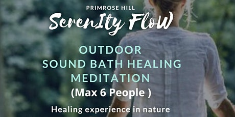 1 Hour ~ Outdoor Crystal Sound Bath Healing & Guided Meditation tickets