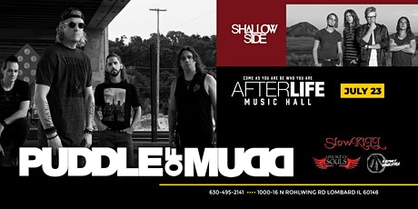 Puddle of Mudd, Shallow Side & More Live! tickets