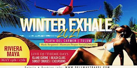 JUST EXHALE 2021 - Playa Del Carmen boletos